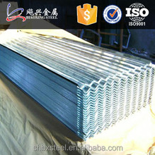 Zinc Corrugated Roofing in Sheet Metal Prices Prefabricated Houses