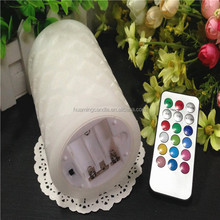 Paraffin Wax Material and Yes Handmade flameless moving wick led candle jessica 0086-15032098633