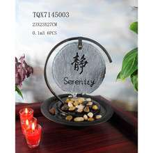 Home tabletop decoration feng shui fountain