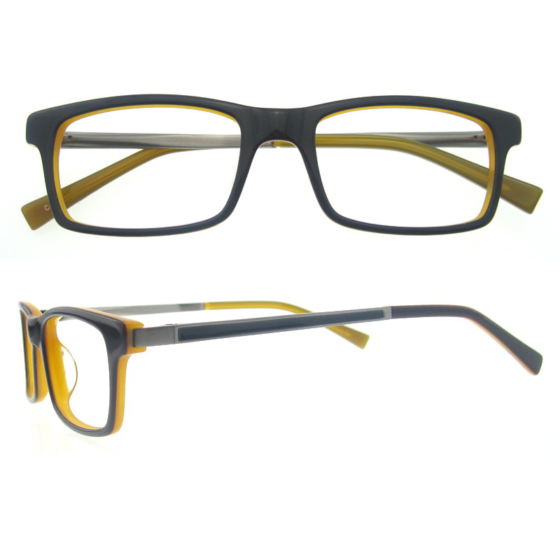 2015 designer glasses frames for men blue acetate optical ...