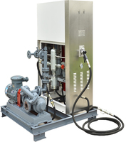 LPG dispenser with double hoses/nozzles with pump