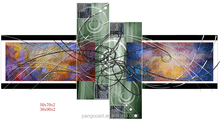 Multi-Panel Natural Abstract Canvas Art Print