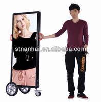 Free Shipping!!! J2B-123 New media human walking led advertising electronic billboard with high brightness