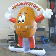 unique giant inflatable potato man / inflatable vegetable / inflatable green for promotion and advertising