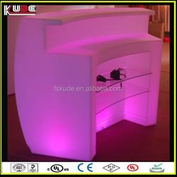 fashion illuminated led bar counter/ modern led glowing bar furniture