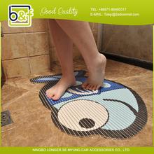 Fish Shape Anti-slip Shower Room Cute plastic shower mat