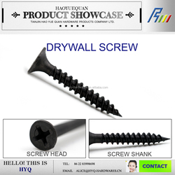 China lead white galvanized/phosphate drywall screw