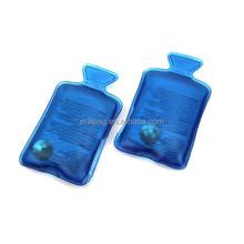 Hot water bag shape reusable snap hand warmers