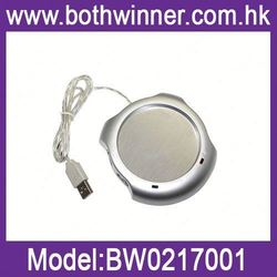 usb mini fridge , H0T335 , usb warmer with clock , portable powered cup usb heater