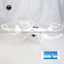 2.4G 4 CH 6 Axis rc quadcopter WIFI control ufo quadcopter drone headless mode & one key auto return
