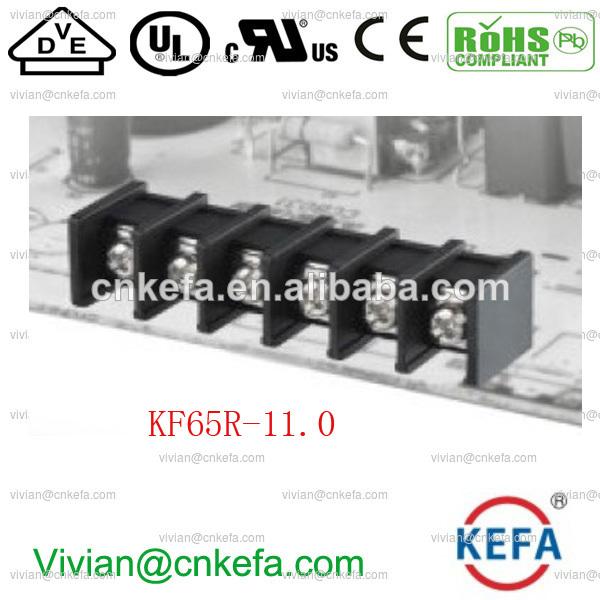 30a провод разъем платы барьер терминальный блок 11mm забор терминальный блок разъем бент штыревой kf65r-11.0