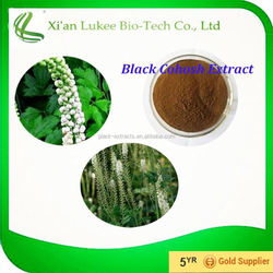 Healthy Product for Women Black Cohosh Root Extract Powdered Black Cohosh Extract