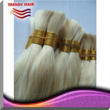 Chinese human hair dyed bulk hair