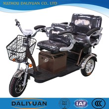 new e-tricycle electric adult tricycle with passenger seats