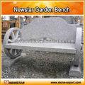 Granito Natural cadeira antiga bancos de parque