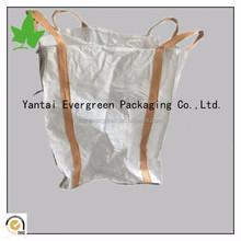 Polypropylene 100% virgin resin pp jumbo bag tubular bag with belt 1000kg