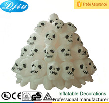 Led light Halloween Inflatable Skull Ghost for Yard Decor, Airblown Ghost Skull Heads for Halloween Decoration