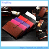 Manufacturer crazy horse flip stand wallet leather case cover for samsung galaxy s6 edge plus
