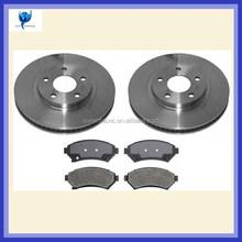 CNC machined auto brake discs