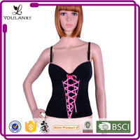 ODM & OEM Popular Hot Lady Polyester Nude Sexy Women Slim Lift Corset Bodysuit