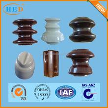 hot sale kinds of porcelain insulators for high voltage and low voltage