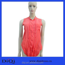 OEM Professional Superior Quality Apparel Crinkle Cotton Super Comfortable Type Women Blouses