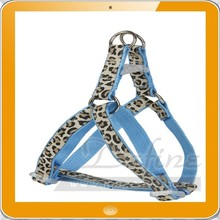 Leopard Pet Dog Cat Harness Collar Leash Set Puppy Lead Walking Harness