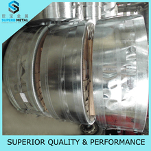 gauge thickness galvanized corrugated steel sheet/Chromated surface treatment galvanized plain sheet of automobile application