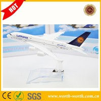 Good price Germany Airway A380 Lufthansa flying plane models, airplane model alloy