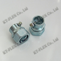 Set screw connector electrical tube connector