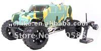 30.5cc 4 Bolt Engine 4WD Hummer RC Truck w/Hydraulic Disc Brake RC Car 2.4G RTR