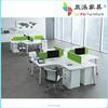 office workstation alluminium legs wooden desk JK-08