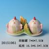 Lovely Ceramic Chicken Salt And Pepper Shaker Set