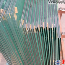 6.38mm-50mm clear or colored laminated glass price, sandwich glass price