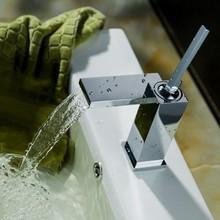 2014 latest design square bathroom faucet