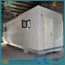 light steel case prefabbricate legno cina/overseas containers for sale/container house complete