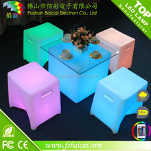 plastic cube coffee table for living room