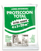 HDPE plastic painter drop cloth/clear plastic table cloth