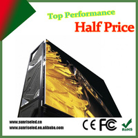 Sunrise High Brightness Electronic LED Outdoor Display for KTV/Hotel project used