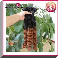 Latest Products loose wave mixed color hair weave extensions
