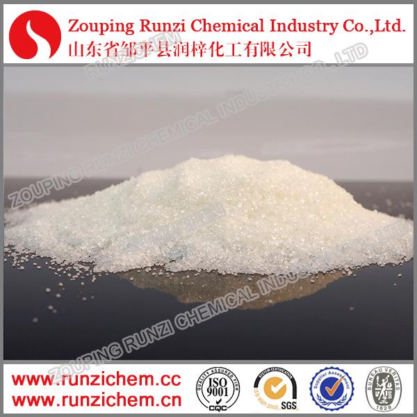 Растворимый в воде кристалл сульфат цинка / сульфат цинка сельское хозяйство / неорганической соединение 98% цинка сульфата