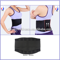 Top selling products in alibaba high quality waist trimmer belt ,elastic lumbar support ,waist back support