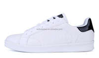 ST020 men popular snake vein low-cut lace-up casual skate shoes