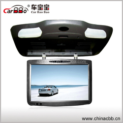 2015 19 inch flip down roof mounted bus dvd player with USB , SD