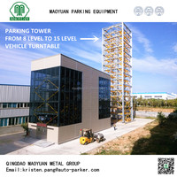 8-15 level lifting parking elevator car lifting device parking tower