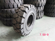solid tyre for forklift 700-9 solid rubber tyre tent made in china