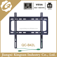"China price spring locked modern wall mount lcd tv stand for26"" to 55"""