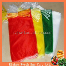 hdpe nylon mesh drawstring bag