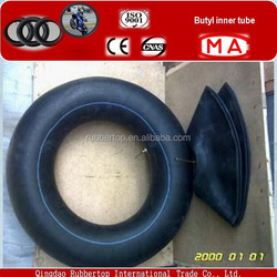Qingdao Rubber hot sale Top high quality butyl rubber/nature rubber motorcycle inner tube butyl tubes wholesale