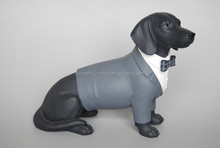 home decor black gentleman dog/the old ornaments upscale gentleman dogs